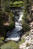 A cascade on Kings Creek, seen from the Cascade view point (9/10/2009, Kings Creek Falls hike, Lassen NP)