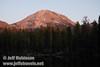 Late sun on Lassen Peak (9/8/2009, Reflection Lake, Lassen NP)