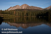 Chaos Crags reflected in Manzanita Lake (9/10/2009, Manzanita Lake, Lassen NP)
