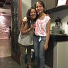 with Alessandra