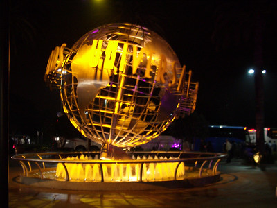 The VMworld 2006 party at Universal Studios in Los Angeles