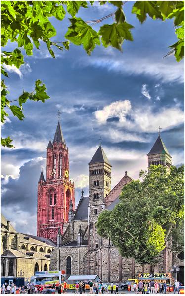 "View on the ""Vrijthof"", Maastricht NL"