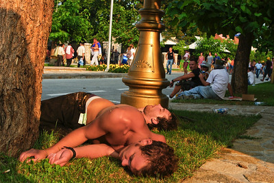 I cizinci si tento festival užívají naplno :-)