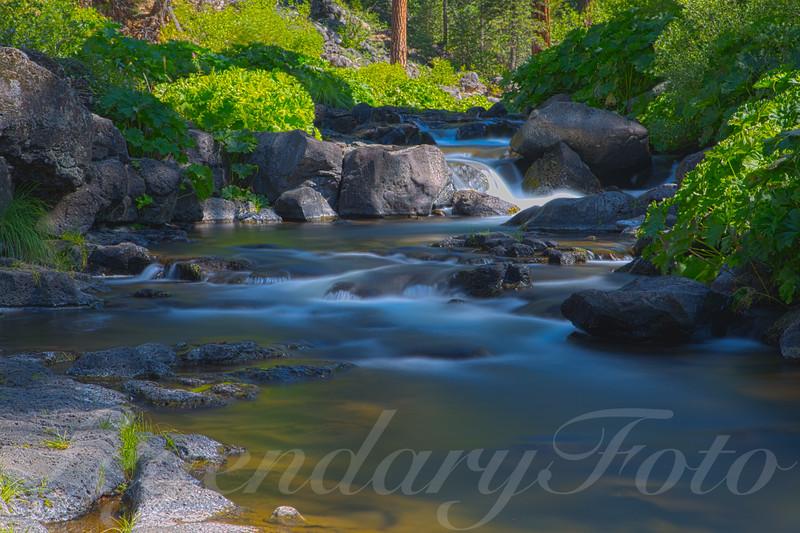 Lower McCloud Falls Creek