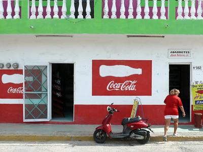 Isla Mujeres - Via Golf Cart across the Island