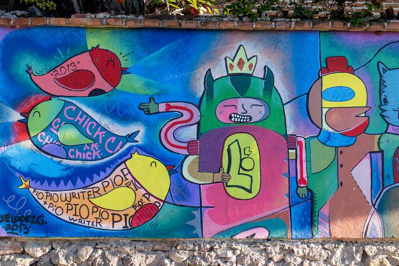 Street Art in Ajijic