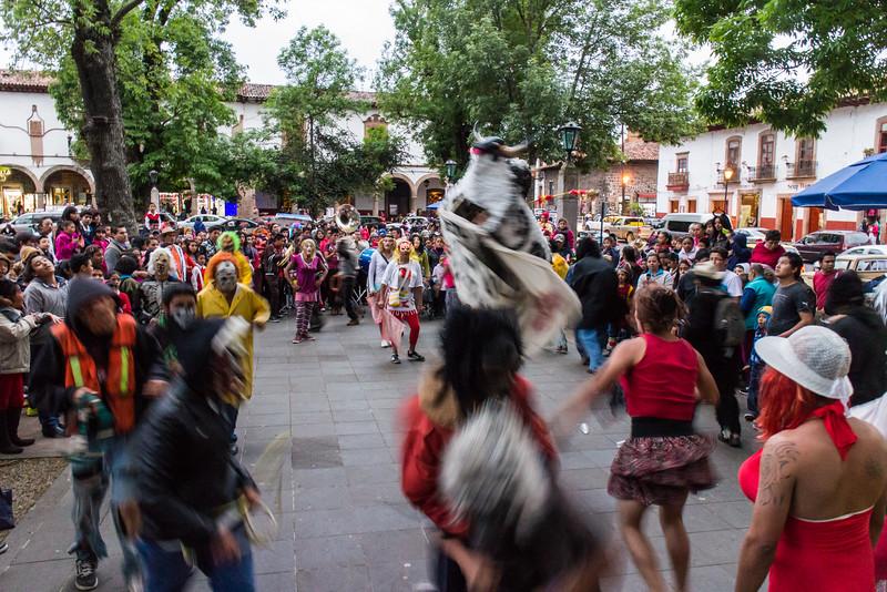 Carnival Celebration in Patzcuaro