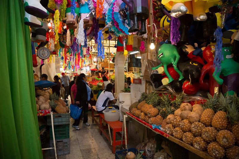 Xochimilco's market