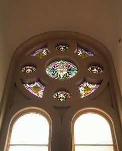 Stain Glass Window, 3rd Floor