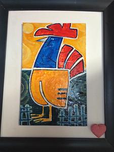 Chicken Art in Little Havana