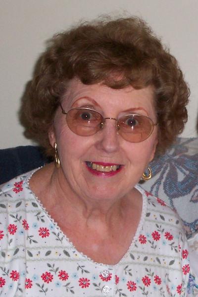 My grandma, at her house, in April 2003