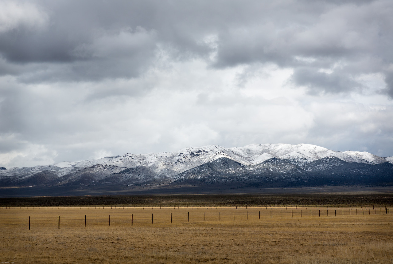 It was a dark and stormy day.  Much better than the more familiar Nevada summer.