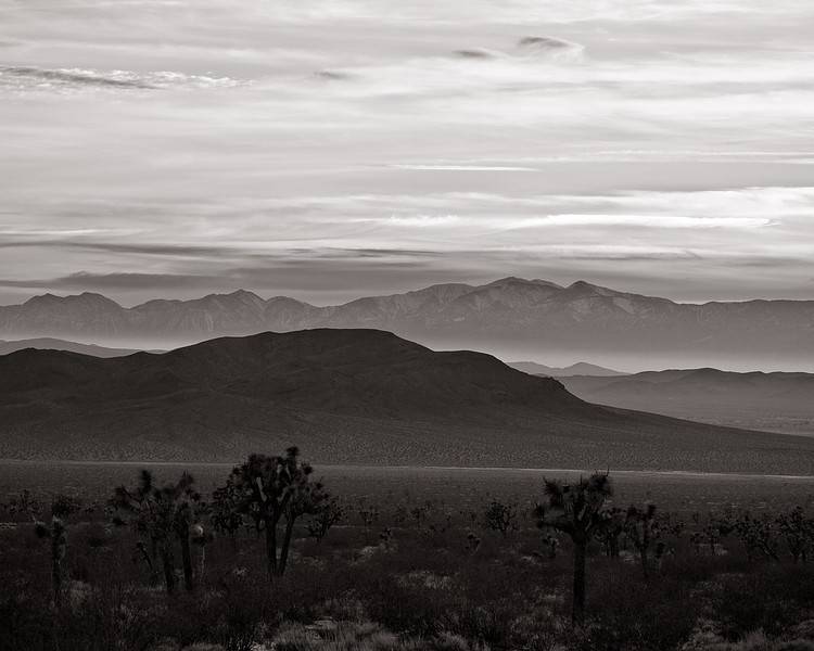 <em>High Desert Sunset</em> Copyright 2009 Ken Walsh