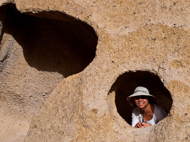 <em>Peek-a-Boo</em> Hole-in-the-Rock, MNP Copyright 2008 Ken Walsh