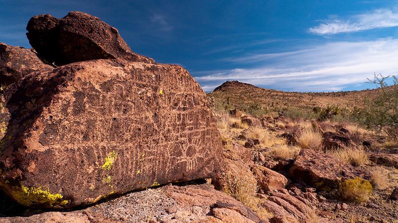 <em>Petroglyphs</em> Lanfair Valley, MNP Copyright 2008 Ken Walsh