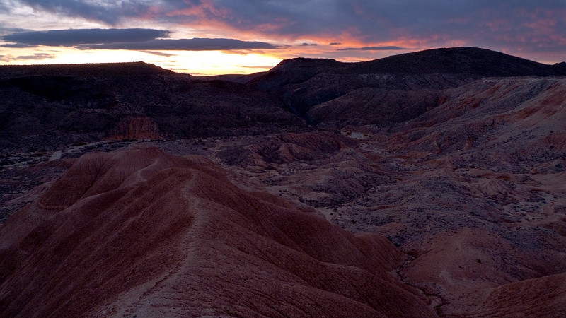 <em>Desert Sunrise</em> Piute Gorge, MNP Copyright 2008 Ken Walsh