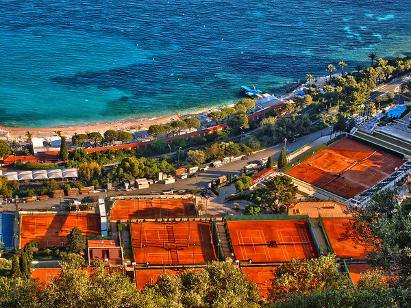 Vue partielle du Monte Carlo Country Club