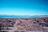 Gravel road leading to Navy beach on Mono Lake (Mono Lake 2002)