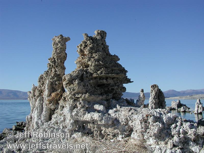 Tufa formations at South Tufa (Mono Lake 2002)