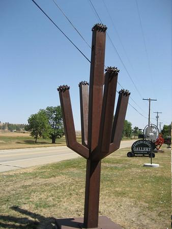 Charles Ringer sculpture