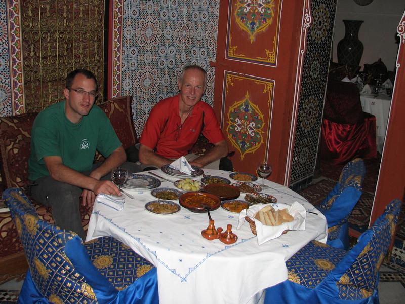 restaurant, Medina, Fes (North Morocco 2009)
