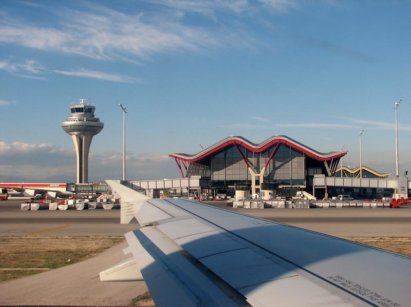 airport Madrid,