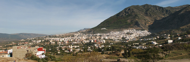 the city of Chefchauen (North Morocco 2009)