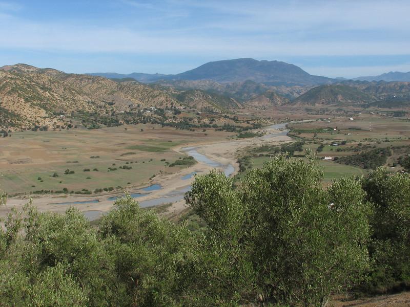 valley near Quazzane (North Morocco 2009)