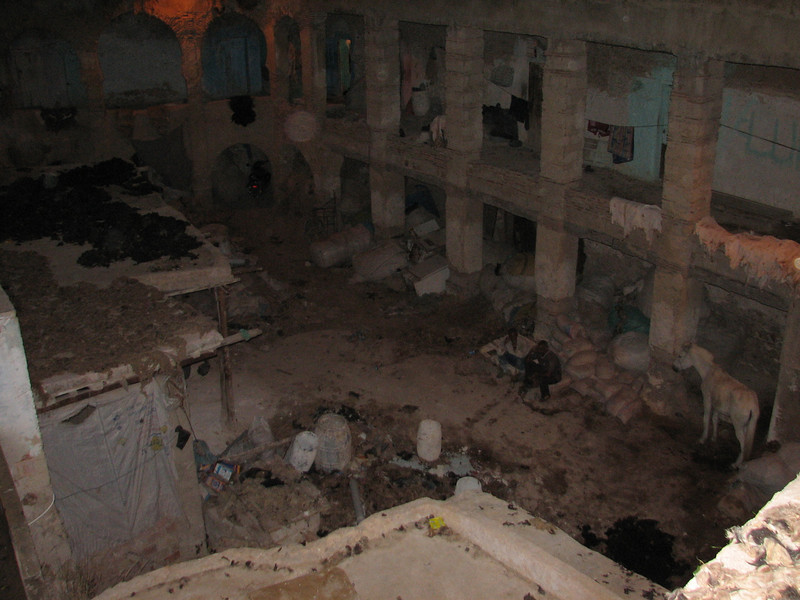 tannery, Medina, Fes (North Morocco 2009)