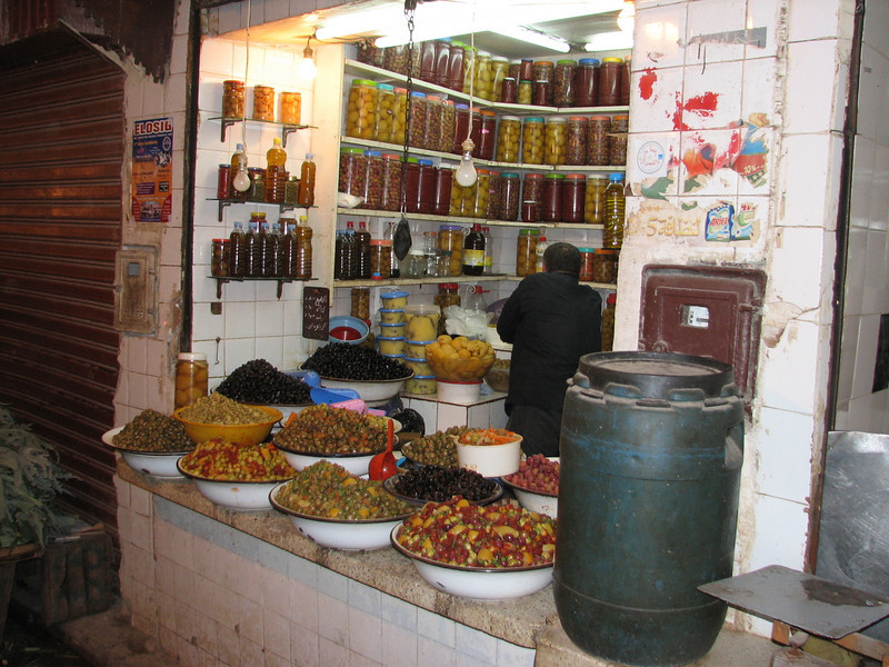 stores in the Medina of Fes (North Morocco 2009)