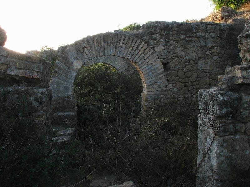 arches of the Historic site De Lixus, North of Larache (North Morocco 2009)