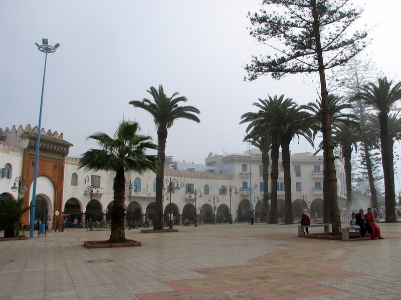 Larache a city near the coast of the Atlantic (North Morocco 2009)