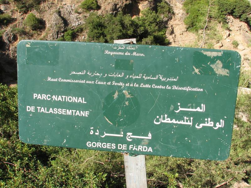 Gorges de Farda (Parc National de Talassemtale) (North Morocco 2009)