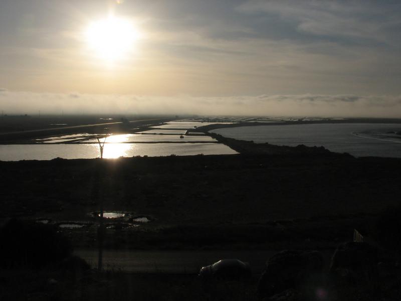 Salt lakes near Larache (North Morocco 2009)