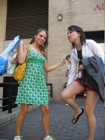 Ashley & Natalie at Fashion Institute of Technology