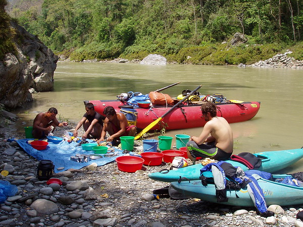 Kayaking the Boti Kosi River