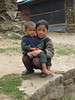 Sister and brother, Sherpa people, Puyan 2750m-Pangkom 2850m