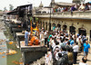 Hindu cremation ceremony, Holy Bagmati river, Pashupatinath, Kathmandu