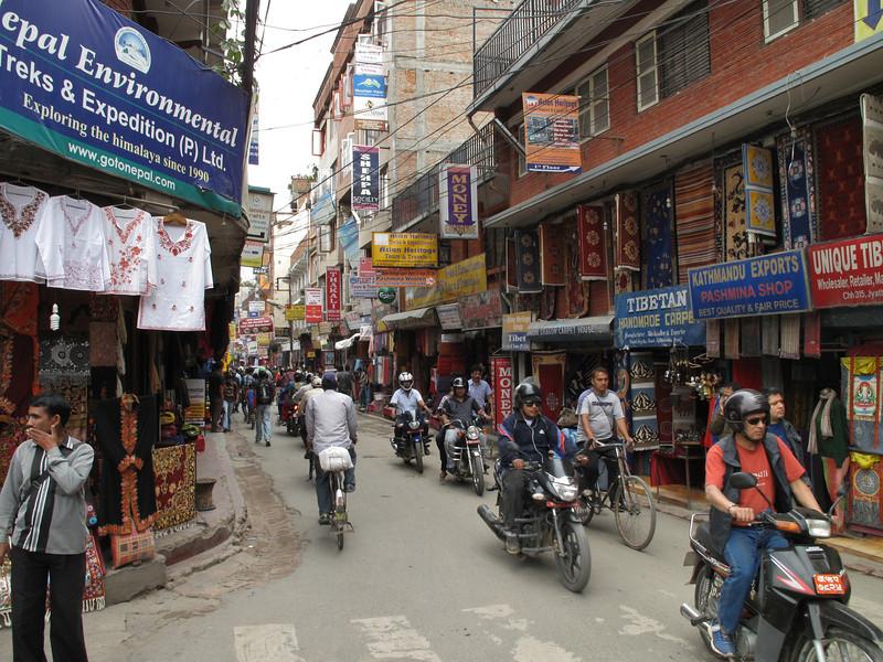 Thamel, Kathmandu 1300m