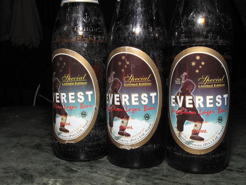 Everest beer, Summit Hotel, Kathmandu