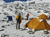 Mera Peak base camp (Mera La) 5350m-Mera Peak advanced camp 5800m
