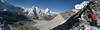 Mingmar Sherpa and Landscape, ascending Imja Tse, Island Peak 6160m