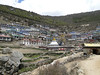 Namche Bazar with stupa 3450m