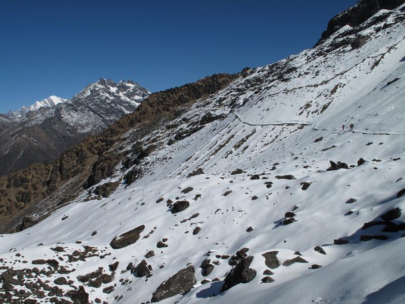 Cliola Kharka 4150m-Kothe 3700m