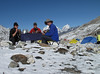 Breakfast, Island Peak Base Camp 5000m