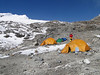 Mera Peak base camp (Mera La) 5350m