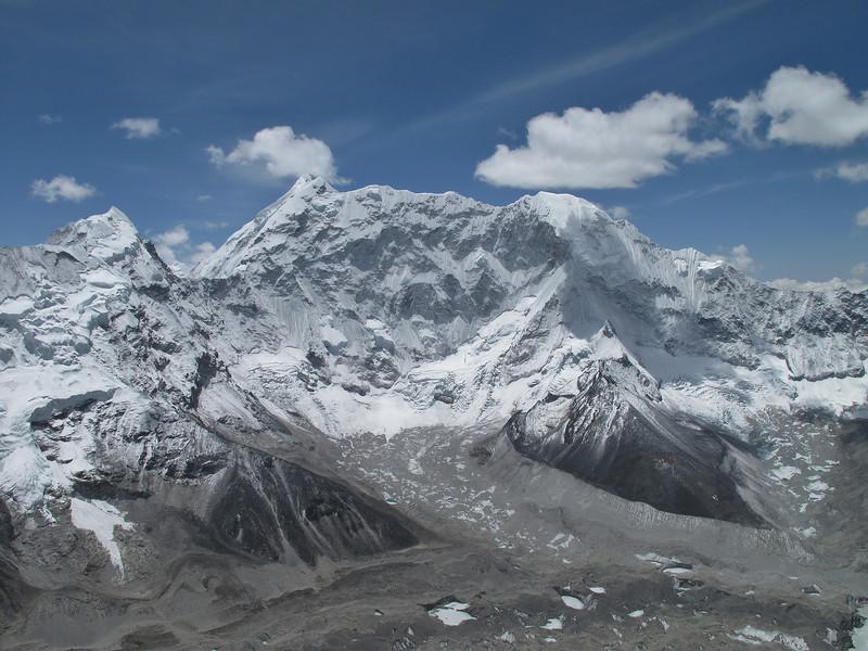 View from summit Island Peak 6160m
