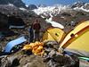 Camp Zatwrala 3800m
