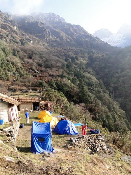 Camp Chalem Kharka 3450m
