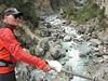 Paul above the Imja Drangka river, Monjo 2900m-Namche Bazaar-Tengboche-Deboche 3630m